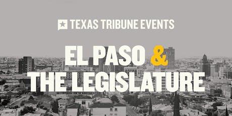 El Paso and the Legislature boletos