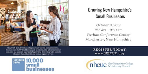 Forum on Growing New Hampshire's Small Businesses