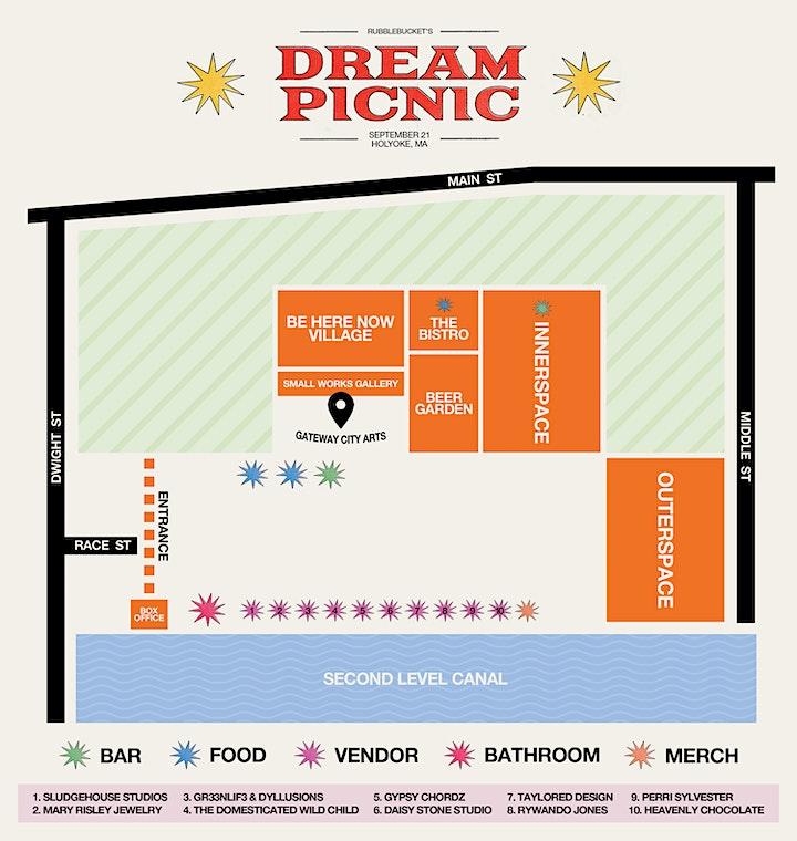 Rubblebucket's Dream Picnic at Gateway City Arts image