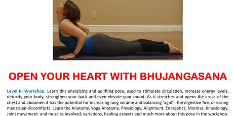 Open Your Heart With Bhujangasana (Cobra Pose) tickets