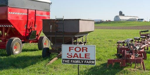 Agriculture Succession Planning Workshop - February 20, 2020 - Cranbrook, BC
