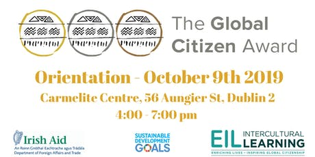 Global Citizen Award Orientation tickets