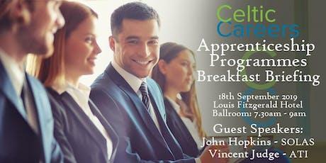Apprenticeship Programmes Breakfast Briefing tickets