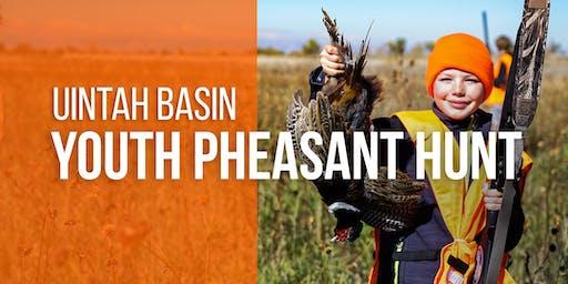2019 Uintah Basin Youth Pheasant Hunt