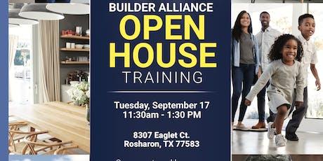 HBREA Open House Training. tickets
