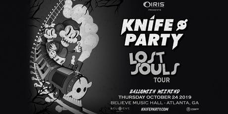 Knife Party !!! The Lost Souls Tour - Halloween Weekend | IRIS ESP 101 | Thursday October 24 - Knife Party
