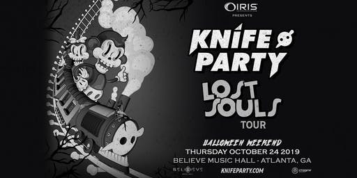 Knife Party !!! The Lost Souls Tour - Halloween Weekend | IRIS ESP 101 | Thursday October 24