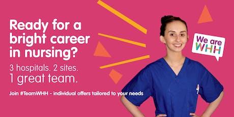 Nurse Recruitment Open day tickets
