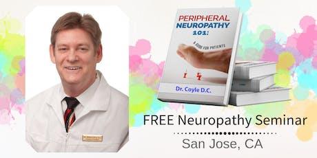 Free Peripheral Neuropathy & Nerve Pain Breakthrough Lunch Seminar - San Jose, CA tickets
