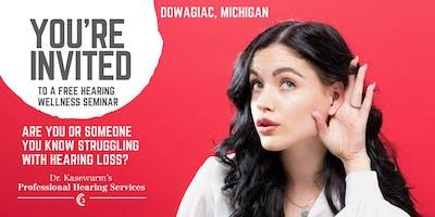 Free Hearing Wellness Event in Dowagiac