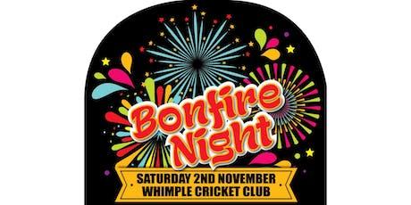 Bonfire Night - Whimple Cricket Club tickets