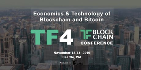 TF4 | TF Blockchain Conference Seattle | November 14, 2019 tickets