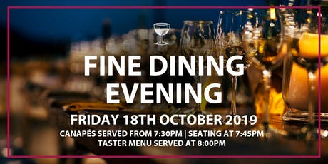 Fine Dining Evening tickets