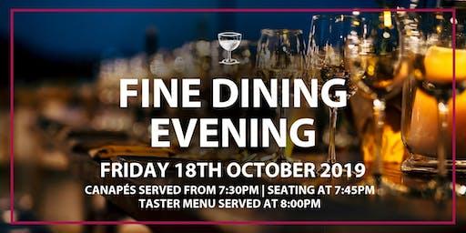 Fine Dining Evening