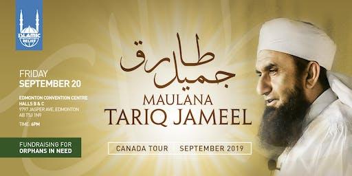Maulana Tariq Jameel in Edmonton