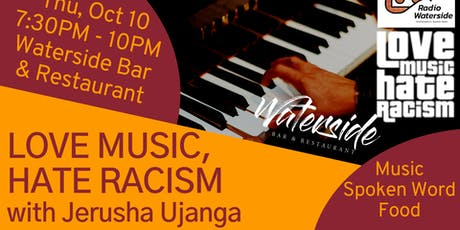 Love Music, Hate Racism - with Jerusha Ujanga tickets