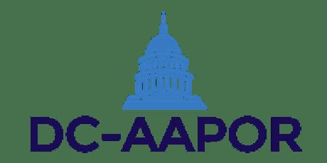 DC-AAPOR Respondent Burden Workshop tickets