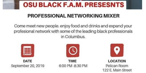 OSU Black F.A.M Presents: Professional Networking Mixer