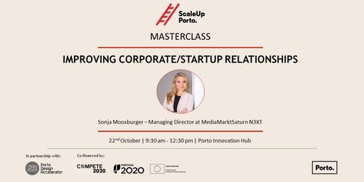 MASTERCLASS | Improving the Corporate/Startup Relationship