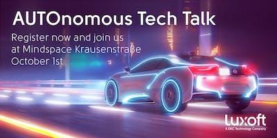AUTOmotive Tech Talk Berlin