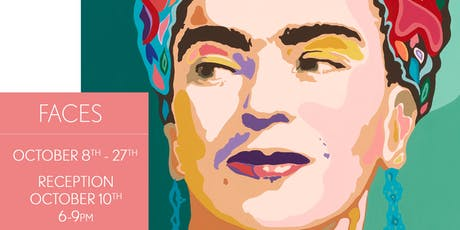 Faces - A Carolyn Joe Solo Show - Opening Reception tickets