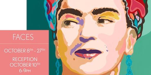 Faces - A Carolyn Joe Solo Show - Opening Reception