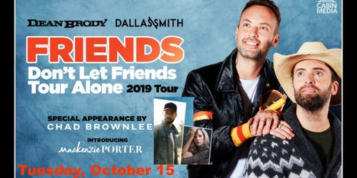 Dean Brody, Dallas Smith Longbranch Party Bus and After Party