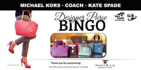 Offutt AFB Designer Purse Bingo 2019 tickets