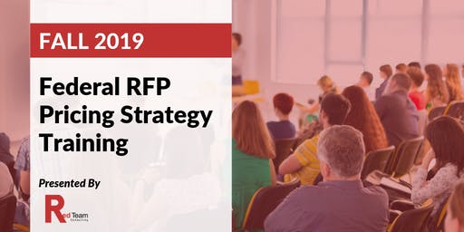 Federal RFP Pricing Strategy Training
