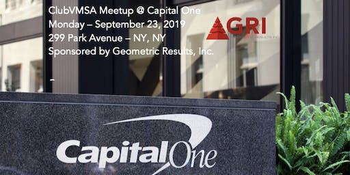 ClubVMSA Meetup @ Capital One by GRI