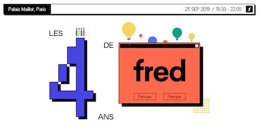 Fred fête ses 4 ans !