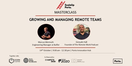 MASTERCLASS | Growing and Managing Remote Teams tickets