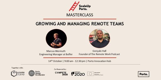 MASTERCLASS | Growing and Managing Remote Teams