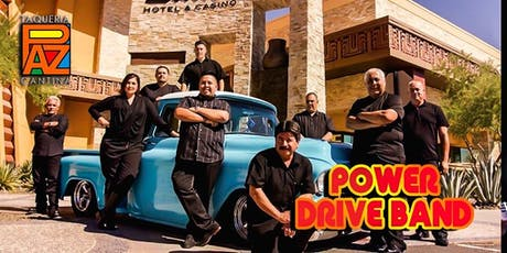 Power Drive Band Live at Paz tickets