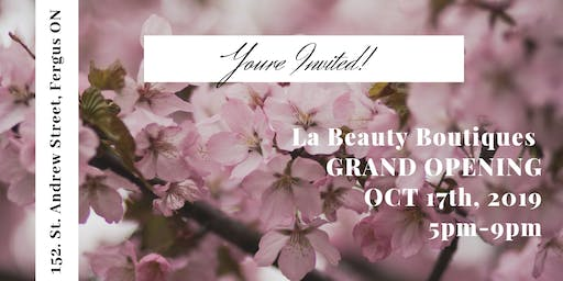 La Beauty Boutique GRAND OPENING