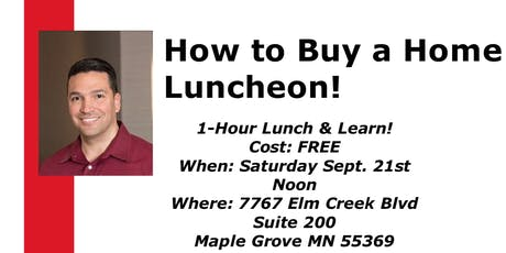 How to Buy a Home Luncheon tickets