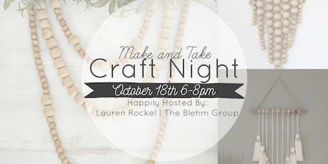 Make & Take Craft Night! tickets