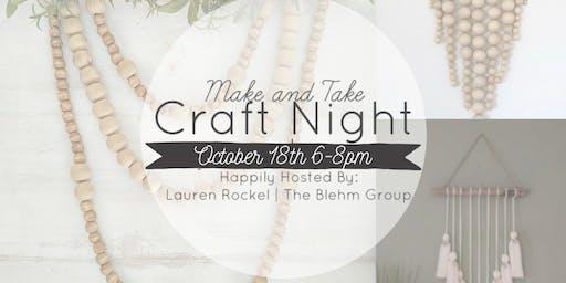 Make & Take Craft Night!