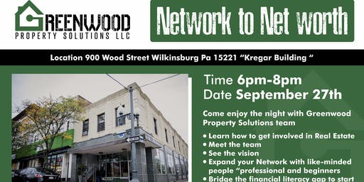 Greenwood Property Network to  Net worth