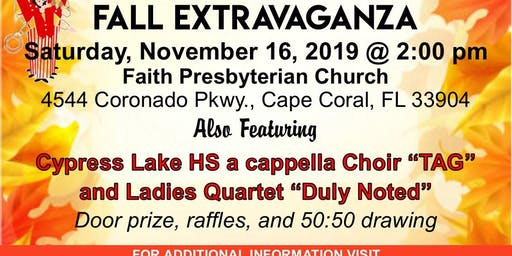 Gulf Coast Harmonizers Fall Extravaganza
