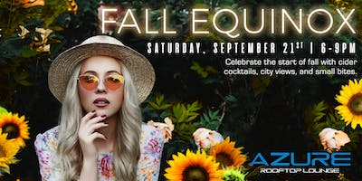 Azure Rooftop Lounge Fall Equinox Party