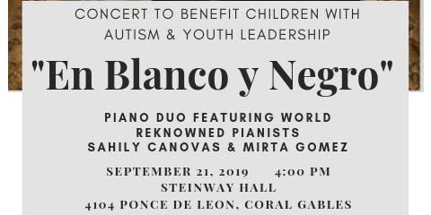 Concert to Benefit Children w/Austim