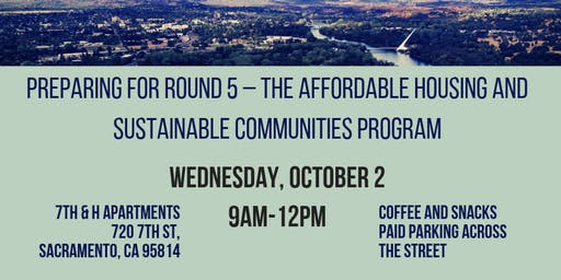 Preparing for Round 5 – The Affordable Housing and Sustainable Communities