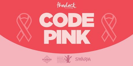 CODE PINK at thedeck in support of Florida Breast Cancer Foundation tickets