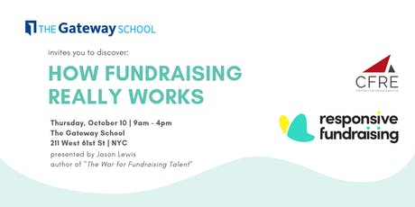 How Fundraising Really Works, New York City tickets