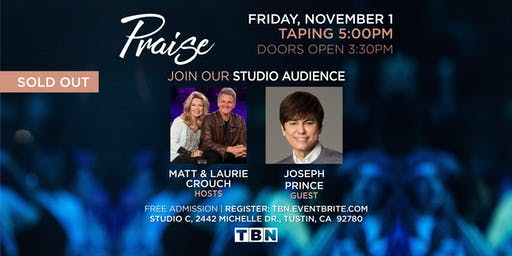 CA - Joseph Prince with Matt & Laurie Crouch