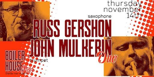 Boiler House Jazz Concert: RUSS GERSHON and JOHN MULKERIN Duo