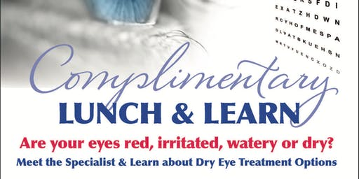 Dry Eye Lunch & Learn Seminar Fort Myers