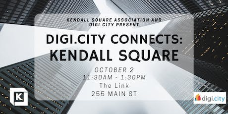 Digi.City Connects: Kendall Square tickets