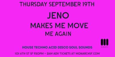 Supernature Thursdays: Jeno | DJ M3 aka Makes Me Move | Me Again